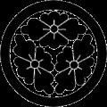 丸に三つ花菱